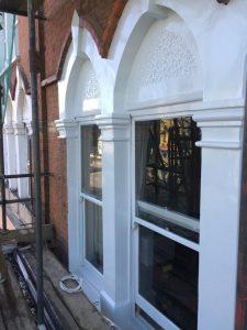 window decorating and masonry