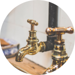 plumbing services for bathrooms and heating.